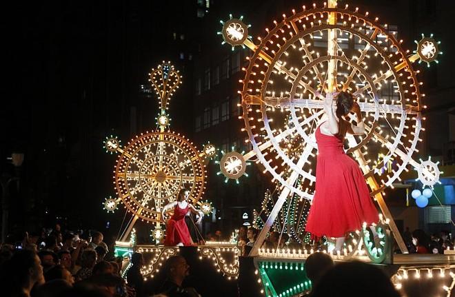 Espetáculo de Natal da Galeria de Luz: uma das atrações de fim de ano em Curitiba | Daniel Castellano/Gazeta do Povo
