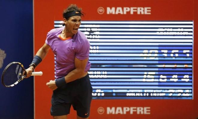 Nadal venceu o argentino Carlos Berlocq de virada e está na semi do Brasil Open | Nacho Doce / Reuters