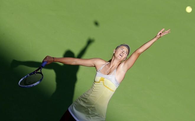 Sharapova está na semifinal em Doha | Reuters