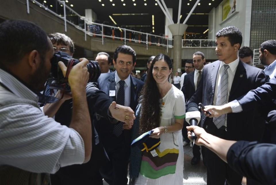 Visita de blogueira cubana provoca tumulto na Câmara dos Deputados