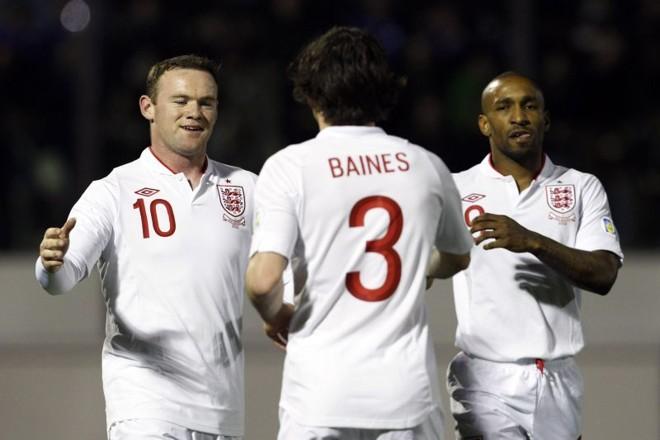 Wayne Rooney marcou um dos oito gols da Inglaterra diante de San Marino | Reuters