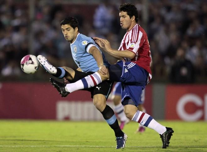 Suárez marcou, mas o Uruguai não conseguiu vencer o Paraguai em casa | Reuters