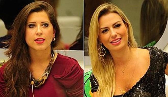 A paranaense Andressa Ganacin e Fernanda Keulla, a grande vencedora do BBB 13 | Divulgação