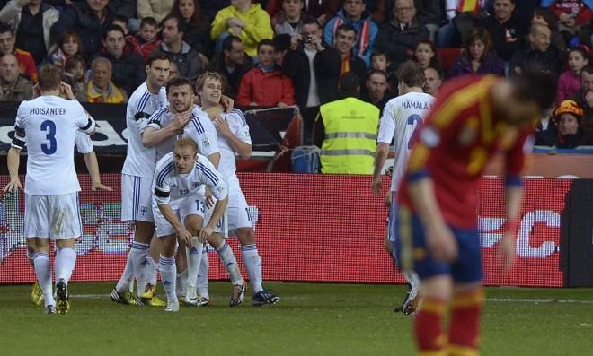Finlândia arrancou empate fora de casa com a Espanha | Reuters
