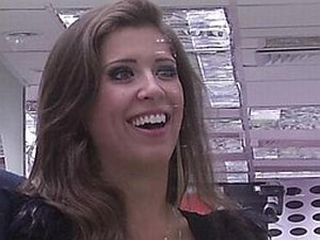 Andressa Ganacin, de 22 anos, recebeu 8,52% dos votos |