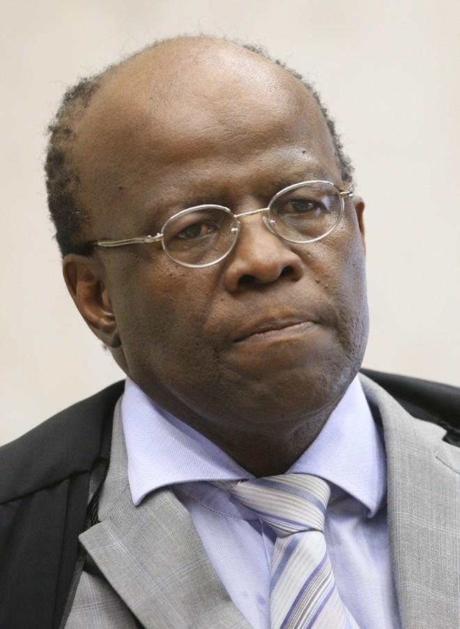Joaquim Barbosa, presidente do Supremo Tribunal Federal (STF) | Nélson Jr./STF