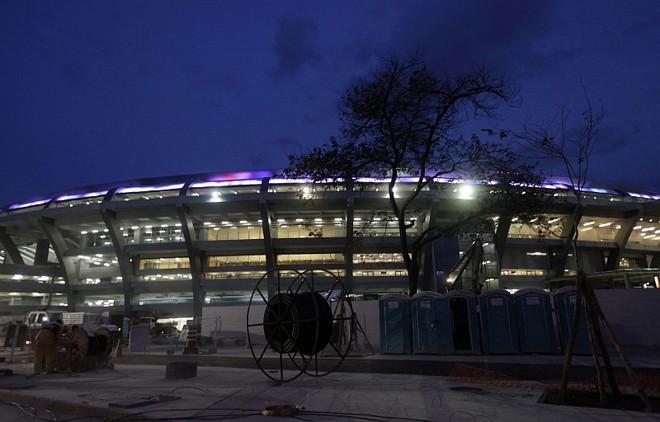 O Maracaná será usado pela primeira vez em uma partida oficial no amistoso entre Brasil e Inglaterra | Ricardo Moraes / Reuters