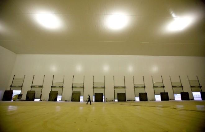 Centro de Armazenagem e Distribuição (CAD) do Grupo Unifrango em Apucarana: capacidade para 8,4 mil toneladas na primeira fase | Jonathan Campos/gazeta Do Povo