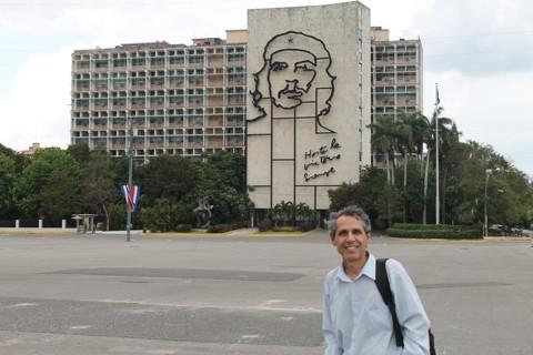 O jornalista Célio Martins em Havana.   Célio Martins/Gazeta do Povo