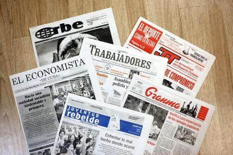 Jornais são vinculados ao partido único e entidades de classe   André Rodrigues/ Gazeta do Povo
