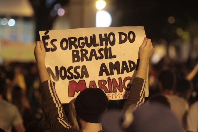 No protesto de quinta-feira, manifestantes ocuparam sessão itinerante da Câmara e conseguiram abertura de CPI | Ivan Amorim / Gazeta Maringá