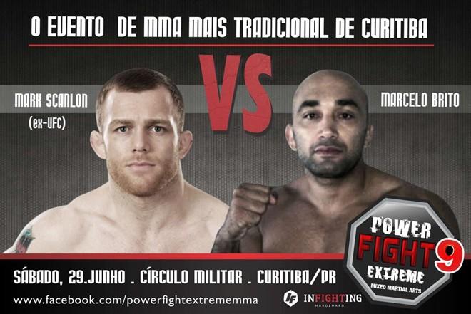 Marcelo Brito encara ex-UFC no Círculo Militar neste sábado | Divulgação