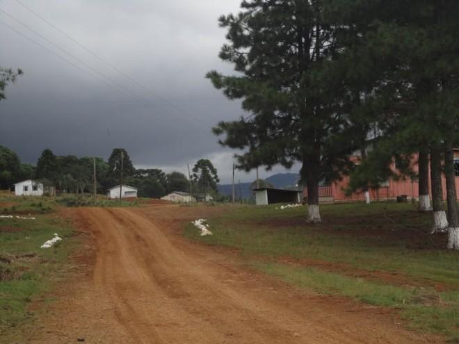 Vista da fazenda de erva-mate, alvo da operação da PF com o MPT e o MTE no início do ano |
