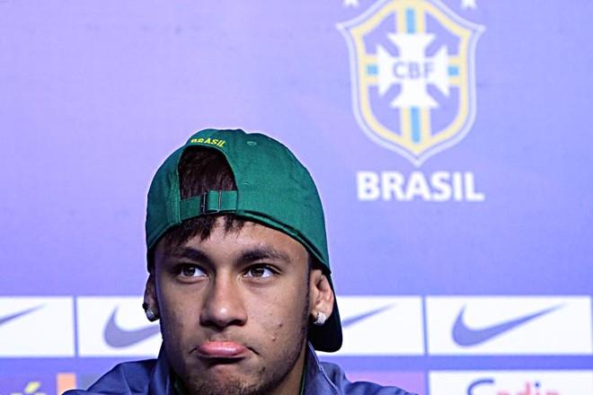 Neymar diz que a seleção deve pressionar a Espanha na final | Albari Rosa, enviado especial / Gazeta do Povo