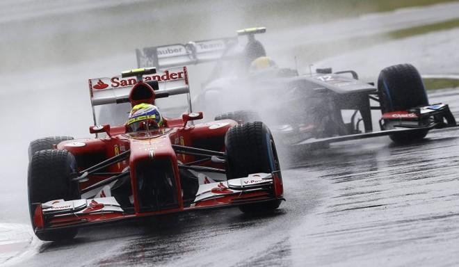 Felipe Massa participou apenas da primeira sessão de treinos em Silverstone   Reuters