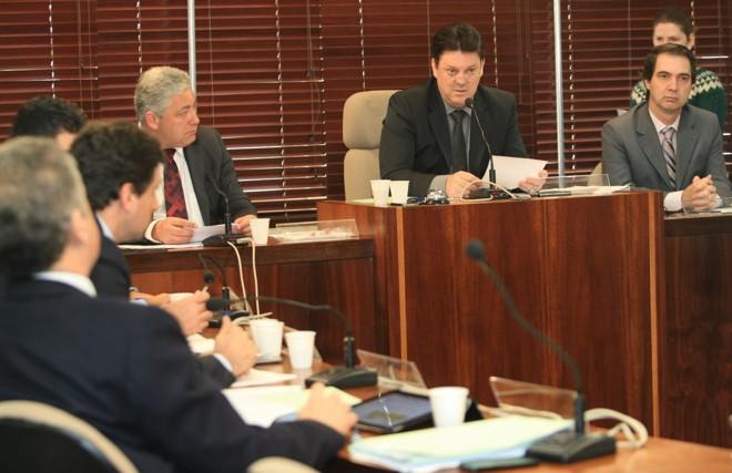 Terceira reunião da Comissão Parlamentar de Inquérito (CPI) do Pedágio foi realizada na manhã desta terça-feira | Aniele Nascimento/Agência de Notícias Gazeta do Povo
