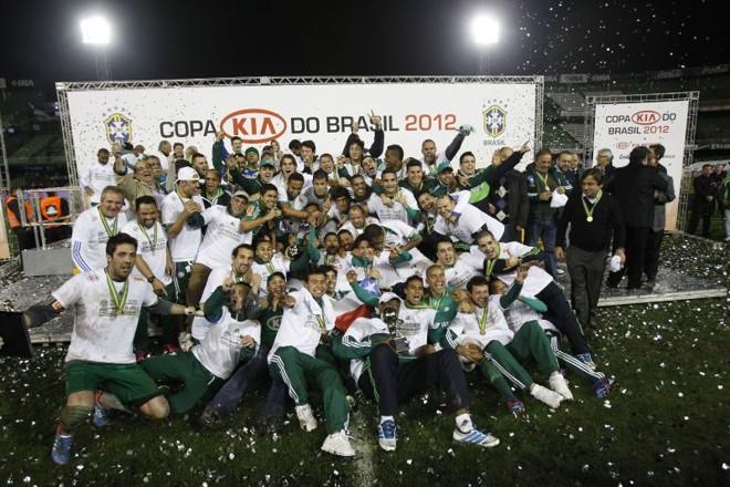 Em 2012 Palmeiras passou pelo Atlético nas quartas e superou Coritiba na final | Antonio More / Gazeta do Povo