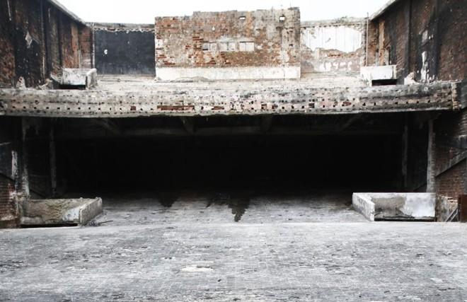 Palco do Ouro Verde: teatro foi destruído por um incêndio | Roberto Custódio/ Jornal de Londrina