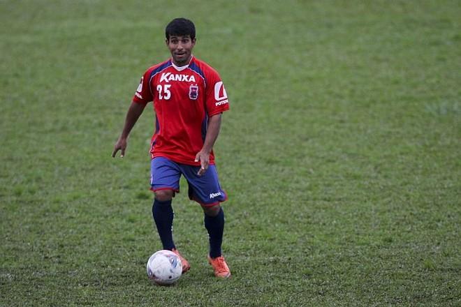 Paulinho Oliveira sequer estava relacionado para o jogo com o Atlético-GO | André Rodrigues / Gazeta do Povo