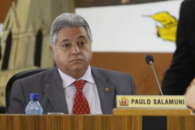 Paulo Salamuni (PV), vereador e presidente da Câmara Municipal de Curitiba | Albari Rosa/ Gazeta do Povo