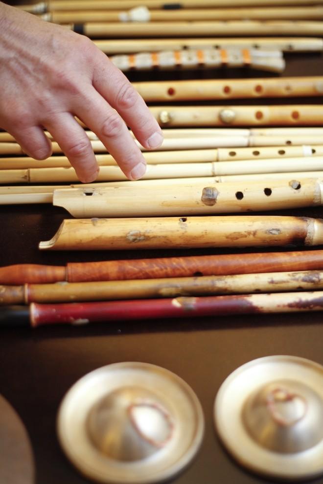 Os instrumentos são cópias precisas dos originais históricos |