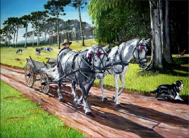 O Polaco, de Teixeira Filho, foi a obra escolhida para constar no anuário   Reprodução