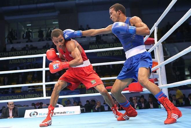 Robson Conceição perdeu para boxeador cubano na final do Mundial de Boxe | Divulgação / AIBA