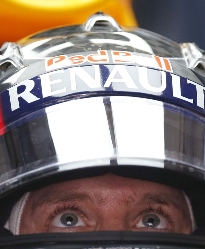 O alemão Sebastian Vettel dominou os primeiros treinos na Índia | Ahmad Masood/ Reuters