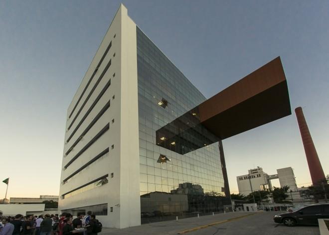 Centro empresarial foi construído sob medida para empresa |