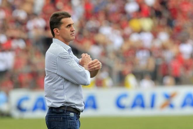 Trabalho do técnico Vagner Mancini foi elogiado por Petraglia | Antônio More / Gazeta do Povo