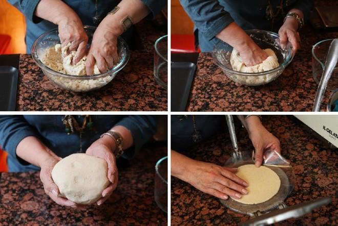 A tortilha começa a partir da masa, feita de um tipo de milho duro, o maíz, que é seco depois de colhido e moído para virar farinha | Fotos Hiroko Masuike/The New York Times