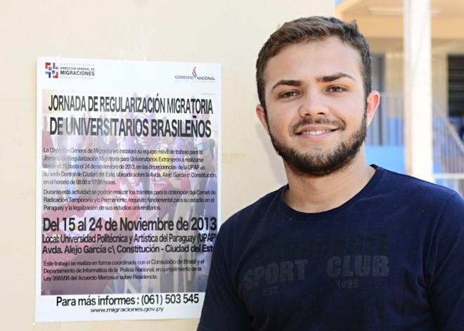 Israel Vieira não tem reclamações do curso de Medicina no Paraguai, mas pretende voltar | Marcos Labanca/Gazeta do Povo