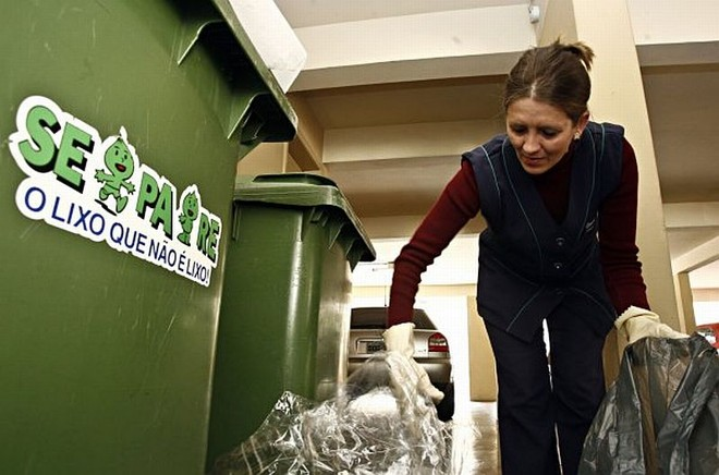 Campanha do início dos anos 1990 pode voltar, repaginada, para conscientizar sobre a separação do lixo | Priscila Foroni / Gazeta do Povo