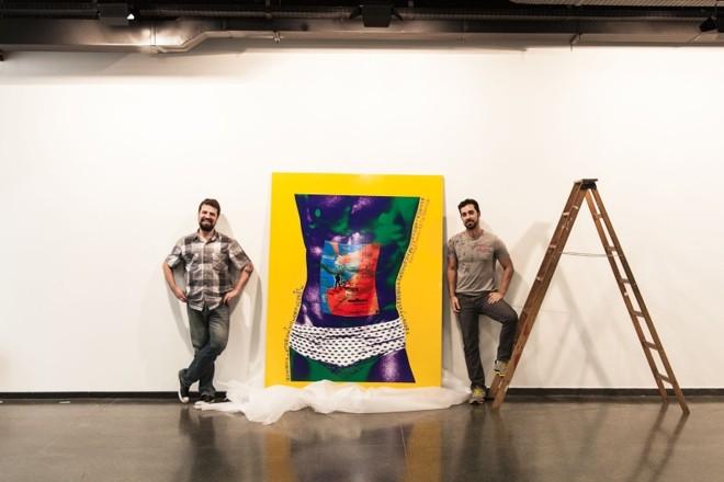 O organizador do Clif, Guilherme Zawa, e o curador do evento, Tom Lisboa: proposta de mostrar o atual momento da fotografia no Brasil e no exterior | Imageria Leal/Divulgação