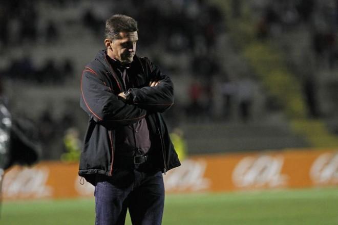 Vagner Mancini confia em reação do Atlético na primeira perna da final da Copa do Brasil quarta-feira contra o Flamengo | Antonio More / Gazeta do Povo
