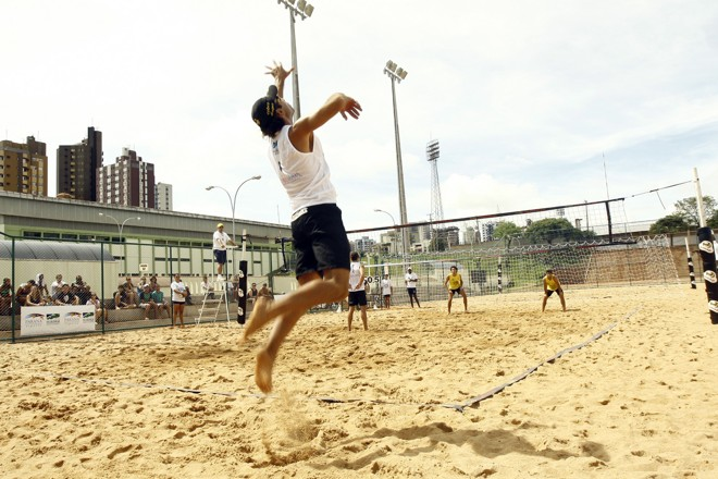 Quadras de vôlei de areia estão disponíveis durante todos os dias da semana | Assessoria de Comunicação/PMM