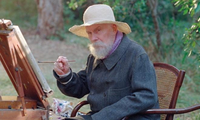 Michel Bouquet vive o pintor Pierre-Auguste Renoir em filme que não busca desvendar o artista | Divulgação