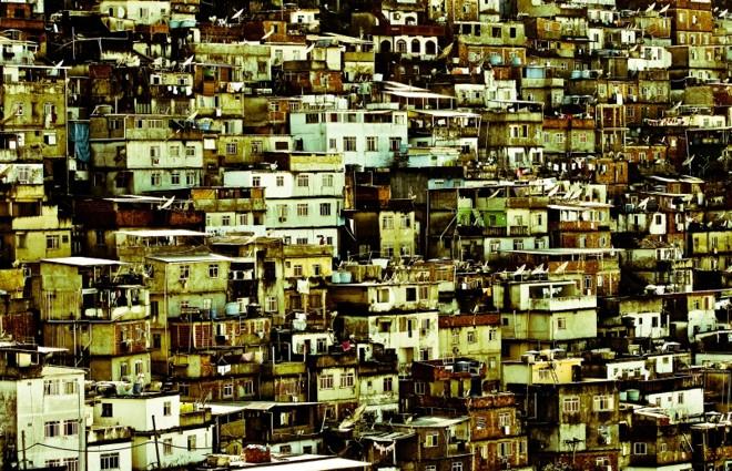 Comunidade Pavão–Pavãozinho, no Rio de Janeiro: barracos   Henry Milleo/ Gazeta do Povo
