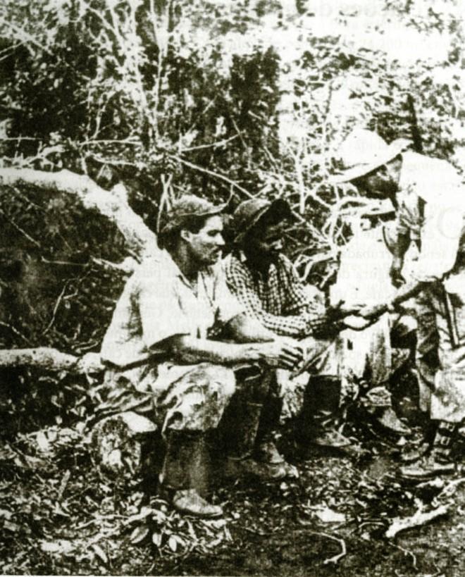 Posseiros reunidos durante a guerrilha tinham o objetivo de afastar os jagunços |