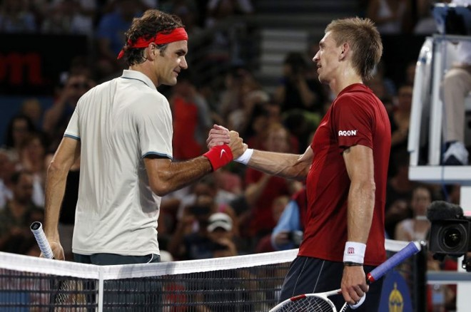 Federer bateu Jarkko Nieminen no primeiro jogo que disputou em 2014   Reuters