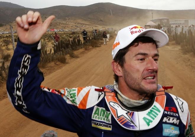 Espanhol Nani Roma foi campeão na categoria carros pela segunda vez em uma final muito disputada   Jean-Paul Pelissier/Reuters