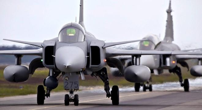 Caça Gripen escolhido para renovar a frota da Aeronáutica | Patrick Tragardh/Reuters