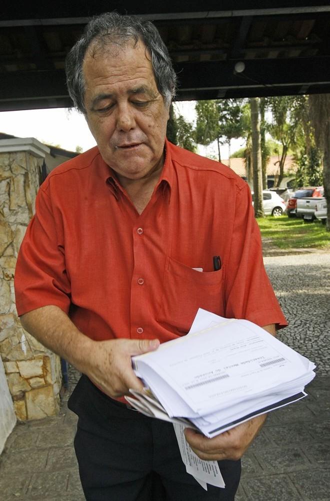 Eurolino Reis, advogado de Abib Miguel, disse que vai recorrer da sentença | Hugo Harada / Gazeta do Povo