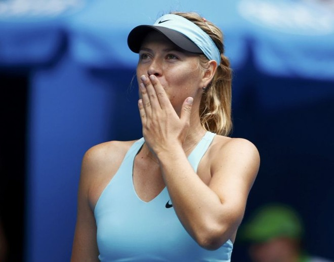 Tenista russa, número 3 do mundo, superou a francesa Alize Cornet | David Gray/Reuters