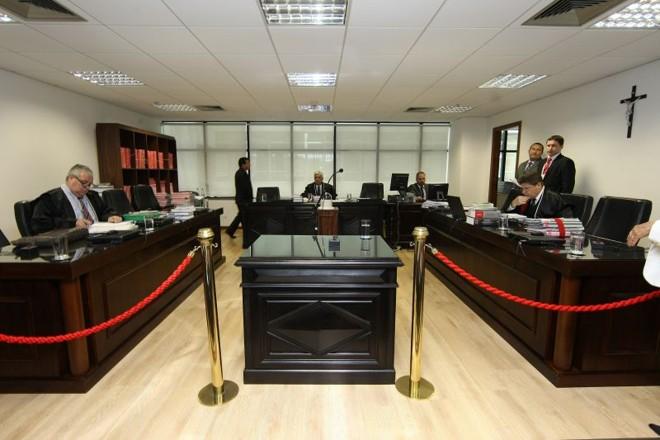 Local da sessão do caso Carli Filho   Ivonaldo Alexandre/Agência de Notícias Gazeta do Povo