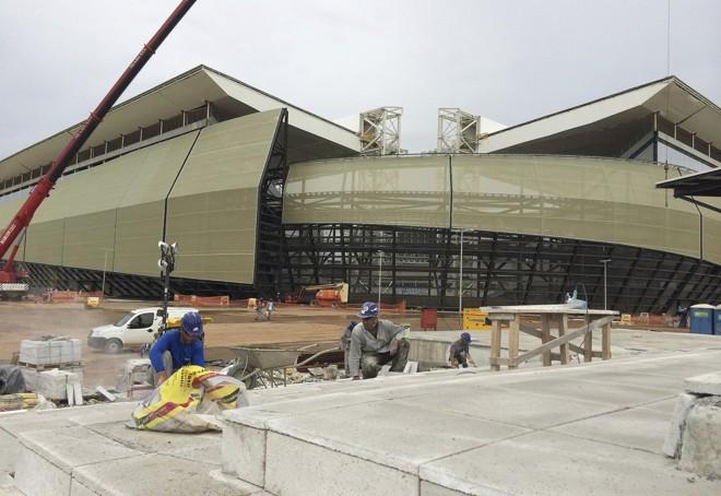 Estádio deve ser entregue apenas em março   Reuters/Brian Winter