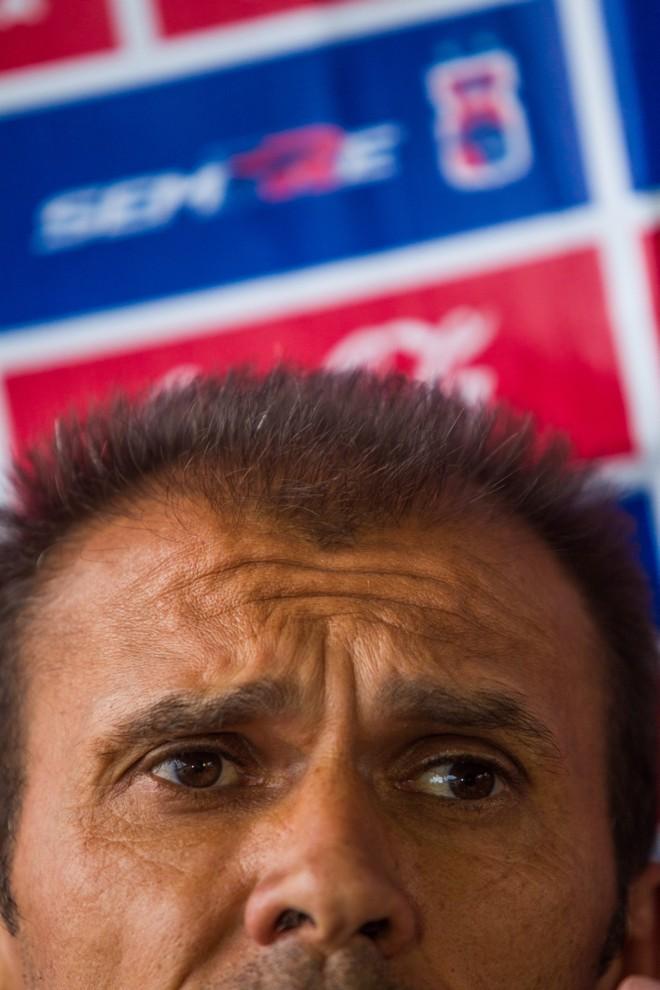Milton Mendes planejava o Tricolor com 21 pontos antes da última rodada. Equipe conquistou apenas 15   Brunno Covello/ Gazeta do Povo