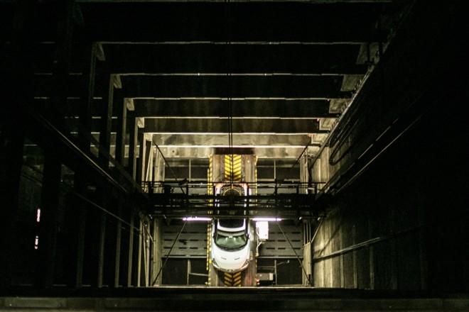 Sistema com elevador, instalado no final da década de 1960, foi pioneiro no Paraná | Brunno Covello / Gazeta do Povo