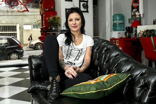 Raquel Zasso, 33 anos, tatuadora profissional |
