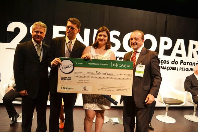 Katia venceu os três primeiros lugares com matérias sobre sustentabilidade | Valterci Santos / Divulgação